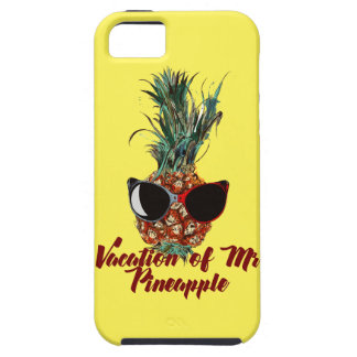 Pineapple vacations. Humor print iPhone 5 Case
