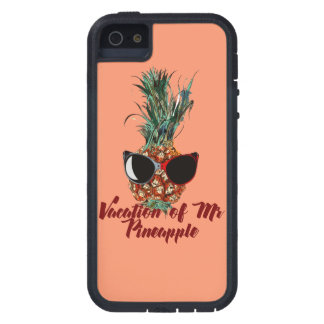 Pineapple vacations. Humor print iPhone 5 Covers