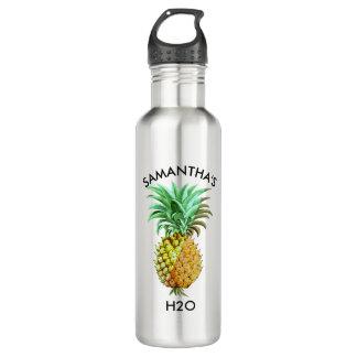 PineApple  Vintage Illustration 710 Ml Water Bottle