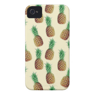 Pineapple Wallpaper Pattern iPhone 4 Cover