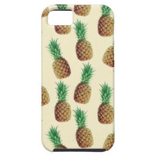 Pineapple Wallpaper Pattern iPhone 5 Case