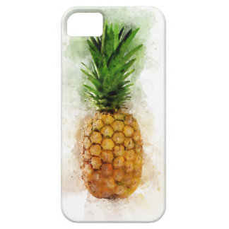Pineapple Watercolor iPhone 5 Case