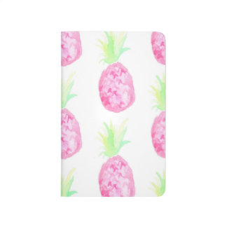Pineapple Watercolor Notebook