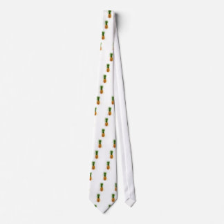 Pineapple Watercolor Tie