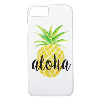 Pineapple Watercolor Tropical Aloha iPhone 8/7 Case