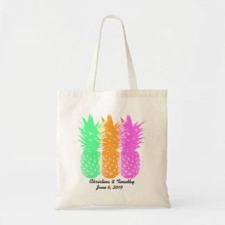 Pineapple Wedding Welcome Bag,Wedding Favor Tote Bag