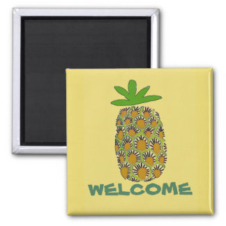 Pineapple, Welcome, edit text Magnet