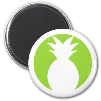 Pineapple Welcome Graphic Magnet