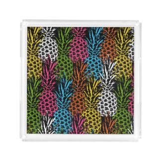 Pineapple Wild and Sweet Acrylic Tray