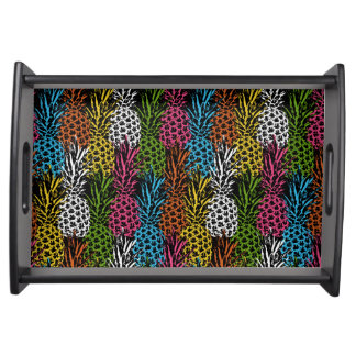 Pineapple Wild and Sweet Serving Tray