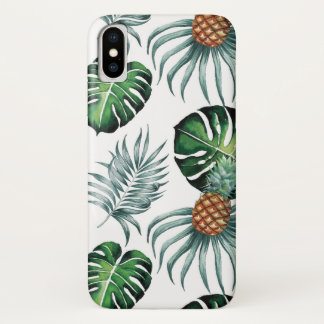 Pineapples and Palms iPhone X Case