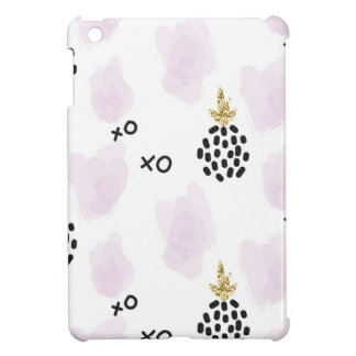 Pineapples and pink leopard print. XOXO Cover For The iPad Mini