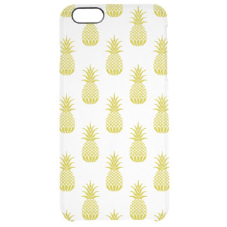 Pineapples Clear iPhone 6 Plus Case