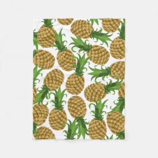 Pineapples Fleece Blanket