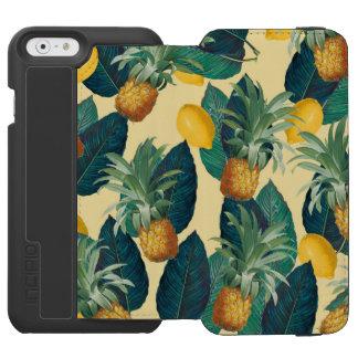 pineapples lemons yellow incipio watson™ iPhone 6 wallet case