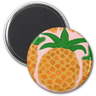 Pineapples Magnet
