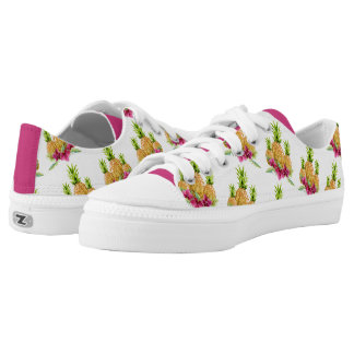 Pineapples Orchids Ferns Tropical Low Tops