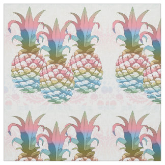 Pineapples Pastel Gradient ID246 Fabric