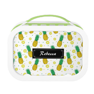 Pineapples pattern lunch box