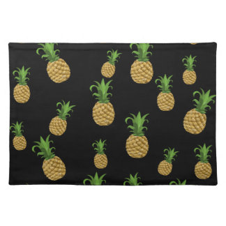 Pineapples pattern placemat