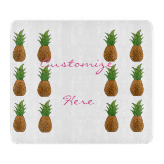 pineapples pattern Thunder_Cove Cutting Board