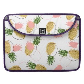 Pineapples & Pine Cones Sleeve For MacBooks