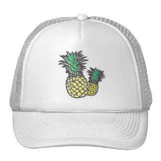 Pineapples Tropical Island Trucker's Hat