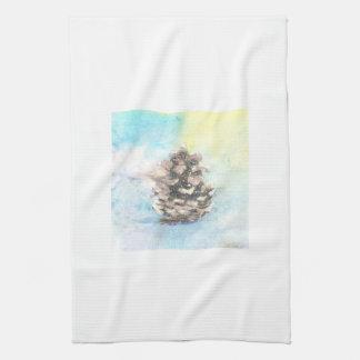 Pinecone Kitchen Dish Towel