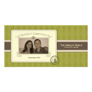 Pinecone Template Photo Card