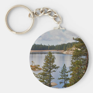 Pinecrest Lake California in August Key Ring