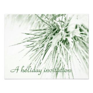 Pinefrost - holiday invitation