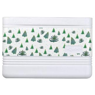 Pines Christmas Holidays Igloo 12 Can Cooler