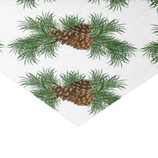Pines Cones Tissue Paper