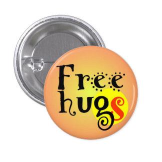 pines short prop Free hugs GS enterlaced 3.2 cm 3 Cm Round Badge