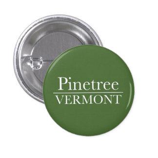 Pinetree - Small Button - Green