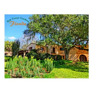 Pinewood Estate Mansion Bok Tower Gardens Florida Postcard