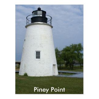 Piney Point Lighthouse Postcard