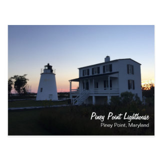 Piney Point Lighthouse Postcard