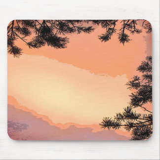 Piney Sunset Mousepad