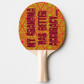 Ping-A-Tudes Ping Pong Paddle