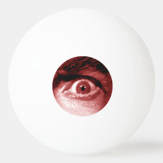 Ping Pong Ball - Novelty Eye Design.