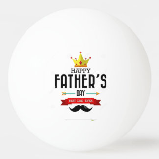 Ping Pong Ball wishing Happy Fathers Day