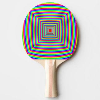 Ping Pong Bat / Paddle  - Squares-inSquares