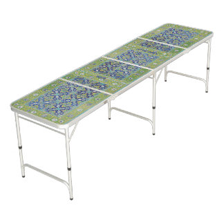 Ping Pong Beer Pong Table Tennis. Tile Look! Folds