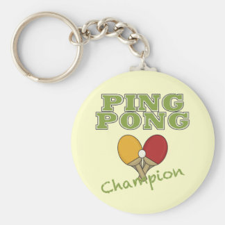 Ping Pong Champion Key Ring