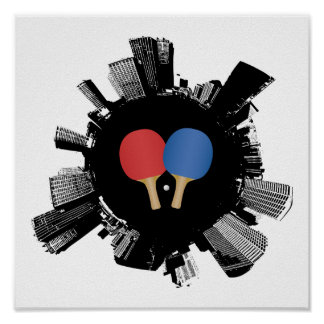 Ping Pong City Poster