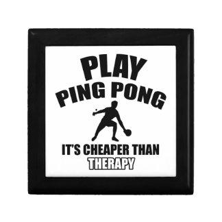 ping pong design gift box