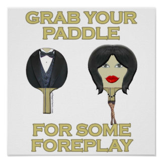 Ping Pong Foreplay Poster