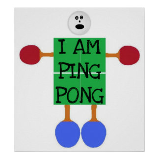 Ping Pong is Life Poster
