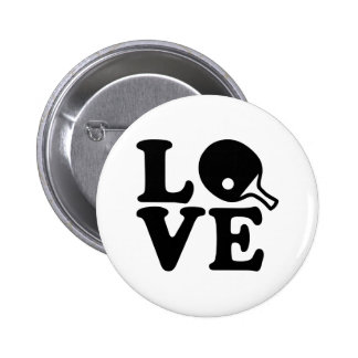 Ping Pong love 6 Cm Round Badge